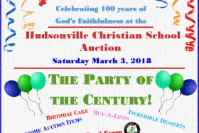 Save the Date for the 2018 HCS Auction – March 3, 2018